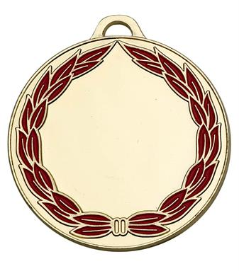 Classic Wreath 50mm Medal
