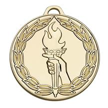 Classic Torch 50mm Medal
