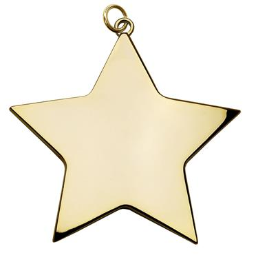 Star 68mm medal