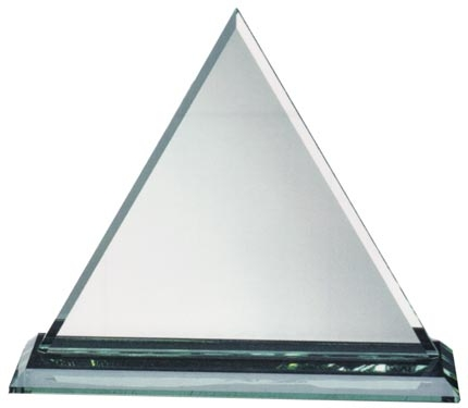 Jade Glass Triangle