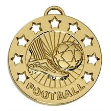 Spectrum 40mm Football Medal