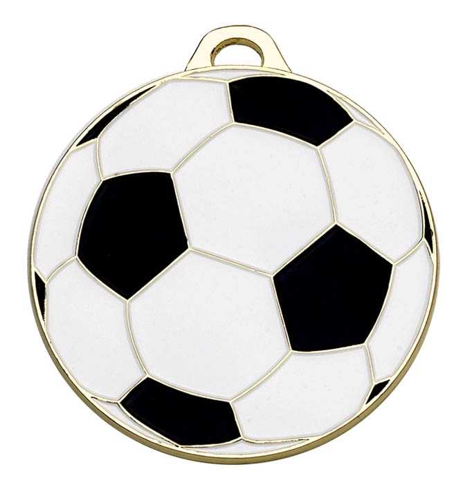 Classic Football 50mm Medal
