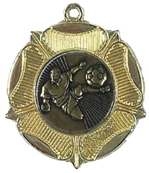 Rose 50mm Medal