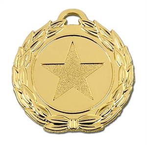 Mega Star 40mm Medal