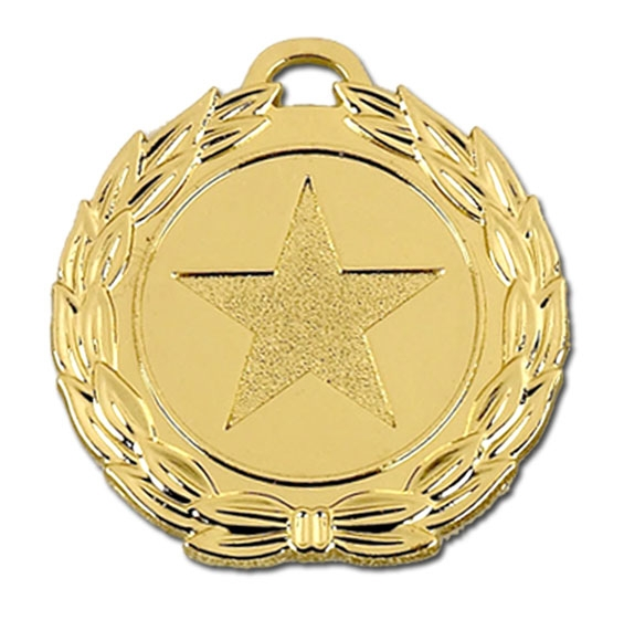 Mega Star 40mm Medal zoomed