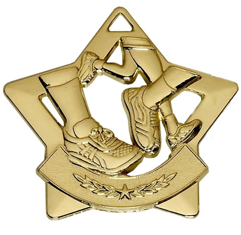 Running Mini Star Medal