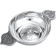 Pewter Quaich Bowl - Wedding 'Loving Bowl'