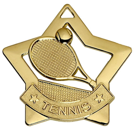 Tennis Mini Star Medal