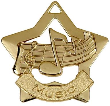 Gold Music Star Medal AM710