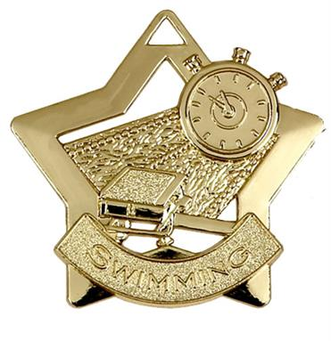 Swimming Mini Star Medal