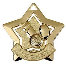 Hockey Mini Star Medal