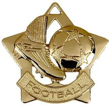 Football Mini Star Medal