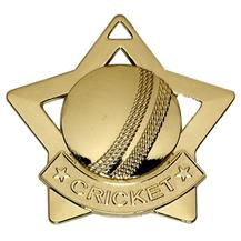 Cricket Mini Star Medal