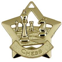 Chess Mini Star Medal