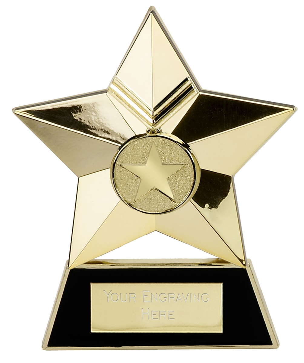 Star Metal Plaque