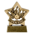 Tenpin Bowling Trophy Mini Star Award