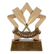 Rowing Trophy Mini Star Award