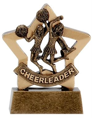 Cheerleader Mini Star Award
