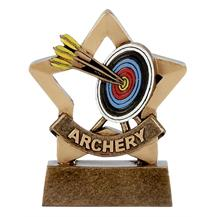 Archery Trophy Mini Star Award