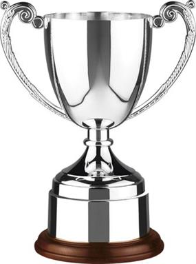 Elegant Endurance Cup with Covered Nickel Plated Plinthbands