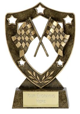Motorsport Shield Star Trophy