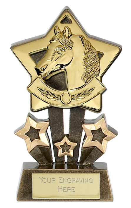 Equine Mini Star Trophy