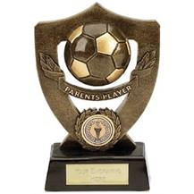 Dual Tone Resin Football Award - Parents' Player