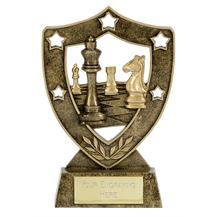 Shield Star Chess Trophy