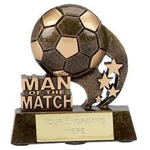 Football Man Of The Match Trophy