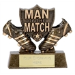 Boot and Shield Man Of The Match Trophy