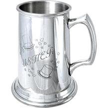 Pewter Tankard - Wedding 'Usher'