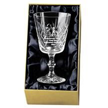 Knighton Crystal Wine Glass Award