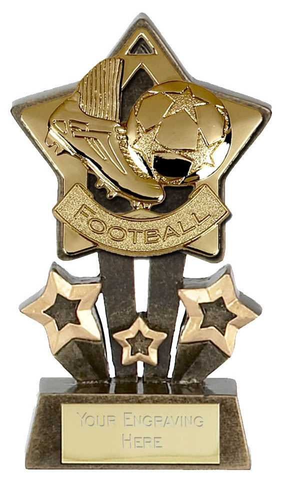 Mini Stars Football trophy