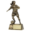 Pinnacle Female Football Trophy