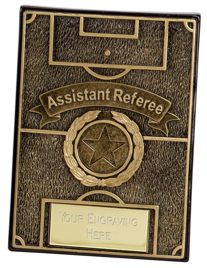 Assistant Apex Football Plaque