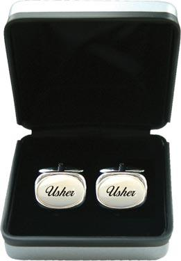 Mother of Pearl Cufflinks - Wedding 'Usher'