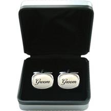 Mother of Pearl Cufflinks - Wedding 'Groom'