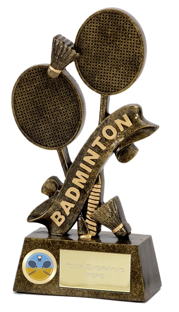 Pinnacle Badminton Trophy