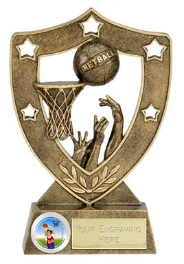 Shield Star Netball Trophy