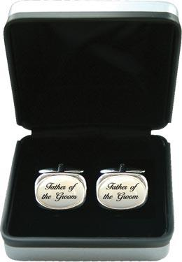 Mother of Pearl Cufflinks - Wedding 'Father of the Groom'