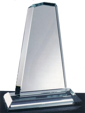 Starfire Clear Glass Pinnacle