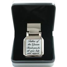 Mother of Pearl Money Clip - Wedding 'Father of the Groom'