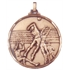 Faceted Volleyball Medal