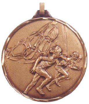 Faceted Athletics Medal