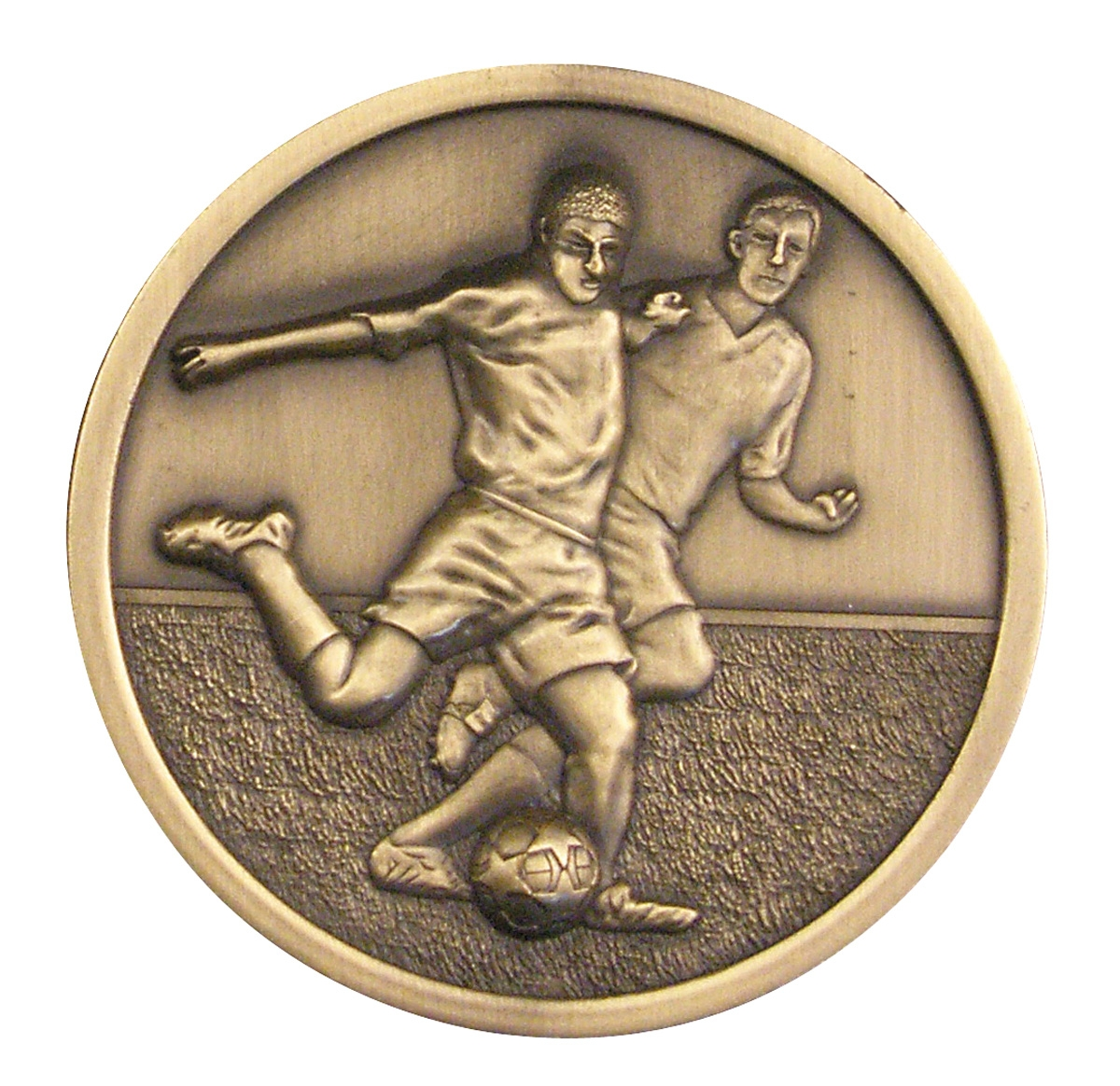 Football 70mm Medallion