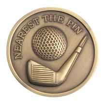 Nearest The Pin Golf Medallion