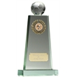 Football Jade Peak Glass Trophy
