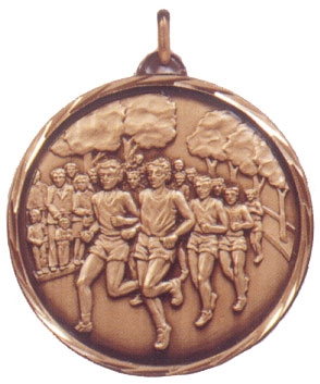 Faceted Marathon Medal