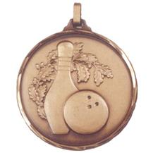 Faceted Tenpin Bowling Medal