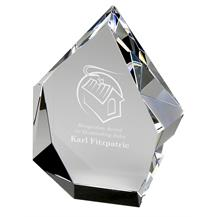 Iceberg Optical Crystal Award KS006